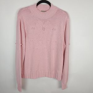 Croft & Barrow sweater pink, XL